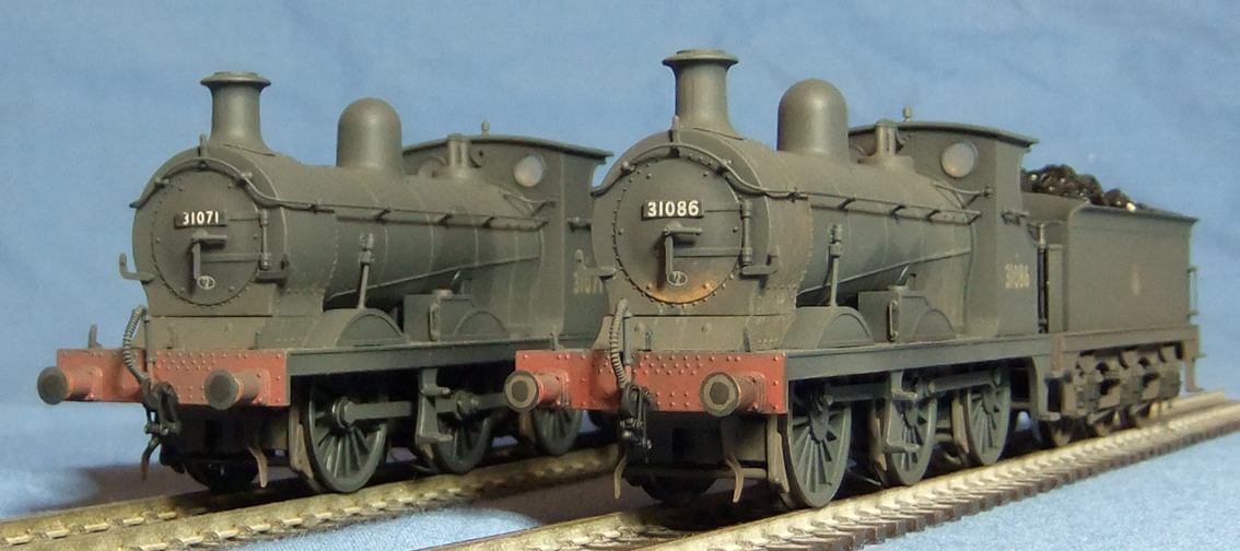 C Class 0-6-0s No.31071 and 31086