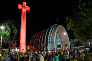 Un millar de personas conmemoró el terremoto de 1939