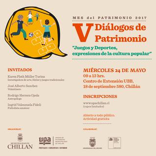 Juegos y deportes en V Diálogos de Patrimonio