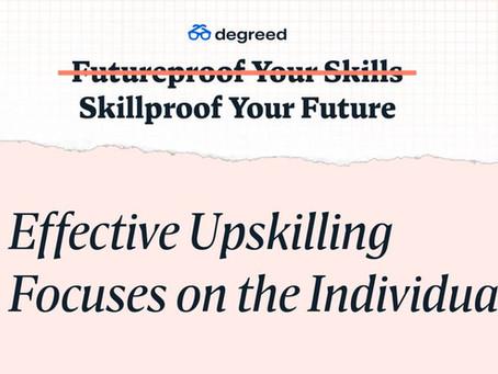 効果的なアップスキリングは個人に焦点を当てる