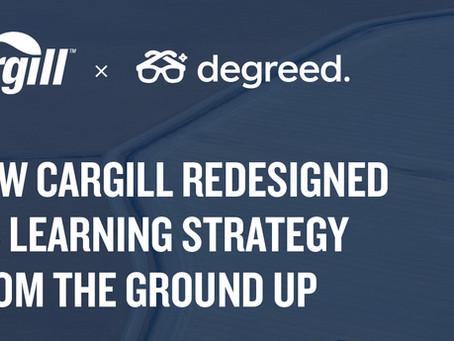 Degreed導入事例:Cargill社が学習戦略を根本から見直した方法