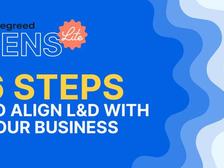 L&D部門を貴社ビジネス戦略に合わせる方法