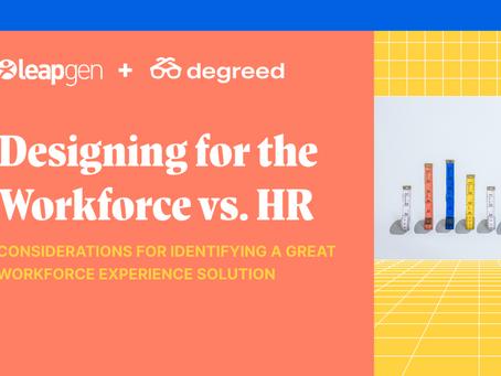 従業員向けと人事部門向けのテクノロジーデザイン