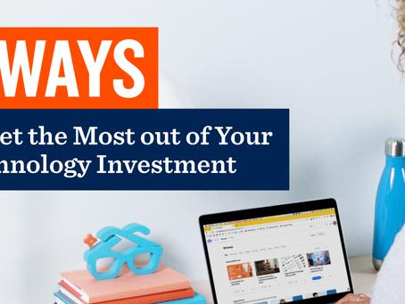 テクノロジー投資を最大限にする4つの方法
