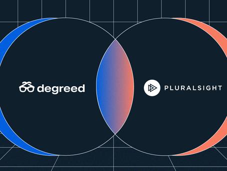 アップスキリング可視性強化のためにDegreed社とPluralsight社はパートナーに!