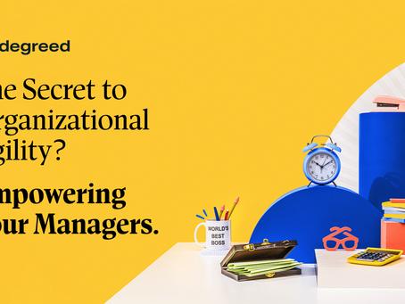 企業組織におけるアジリティの秘訣はマネージャー