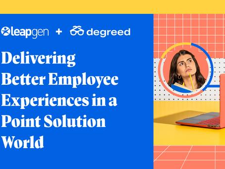 ポイントソリューションでより良い従業員エクスペリエンスを提供する