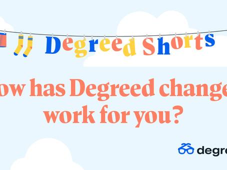 Degreed Shortsシリーズ:Degreedはどのように変えたのか?