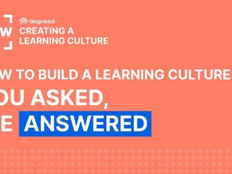 学習文化の構築方法への一問一答
