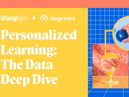 パーソナライズされる学習のためにデータを深く探る