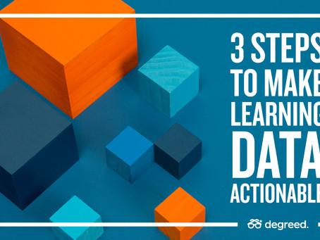 学習データを実用的にする3つのステップ