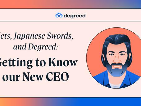 ジェット機、日本刀、そしてDegreed:新CEOのご紹介