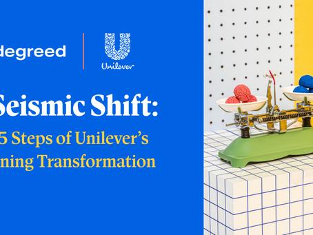 Unileverのラーニングトランスフォーメーションの5ステップ