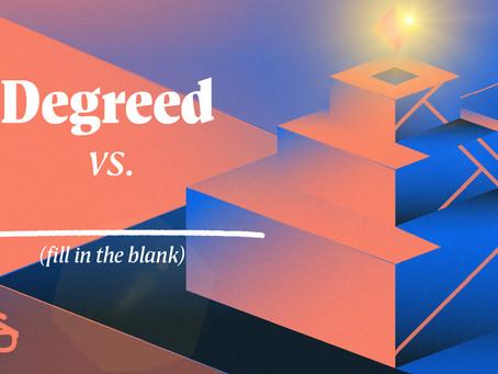 Degreedと〇〇〇の違いは何ですか?