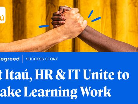 Itaú社の人事部門とIT部門が団結して学習を機能させる