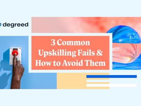 アップスキリングでよくある失敗例と回避方法