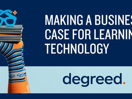 ラーニングテクノロジーのビジネスケース作成