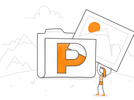 PowerPointでテキストを画像で修飾する方法