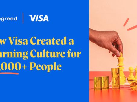 Visa社が20,000人を超える従業員のための学習文化をどのように創造したのか