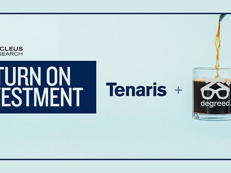 Tenaris社Degreed導入事例:1年後に119%のリターン