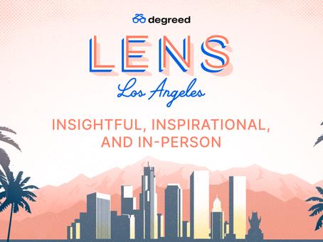 Degreed LENSイベント 2021:洞察に満ち、インスピレーションを与え、そしてリアルで