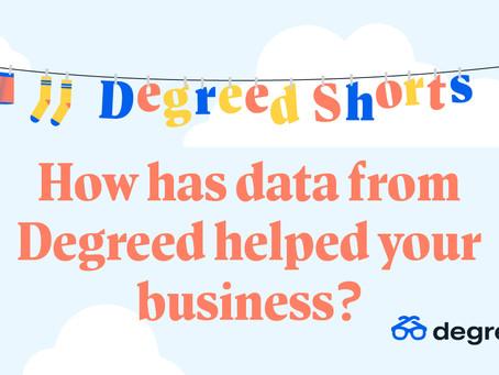 Degreed Shortsシリーズ:Degreedのデータは貴社ビジネスにどのように役立ちましたか?