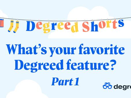 Degreed Shortsシリーズ:お気に入りのDegreed機能は何ですか? Part 1