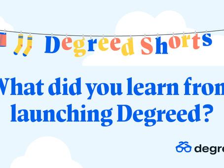 Degreed Shortsシリーズ:Degreed導入により何を学んだか?