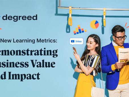 新しい学習指標:ビジネス価値とインパクト