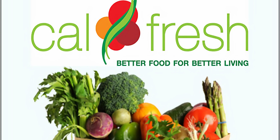 CalFresh for SSI Recipients Drop in Clinic
