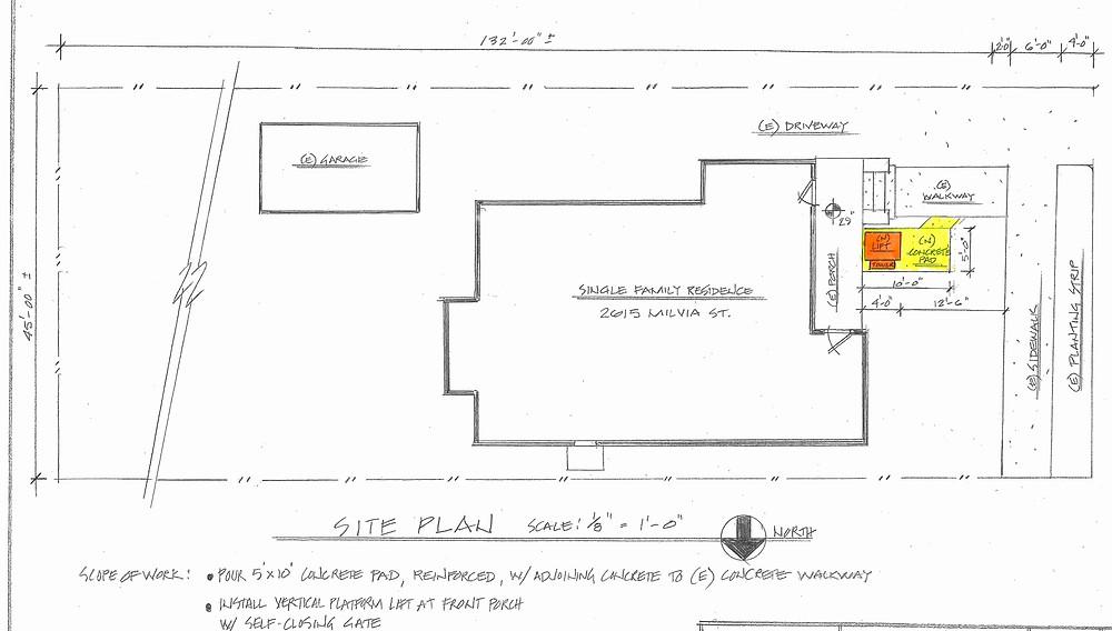 blueprint of Julia's design