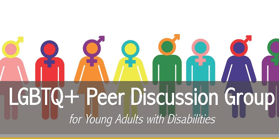 LGBTQ+ Peer Discussion Group