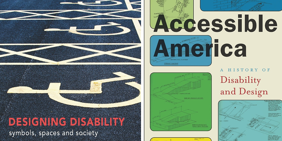 Designing Disability Rights in Berkeley Book Talk