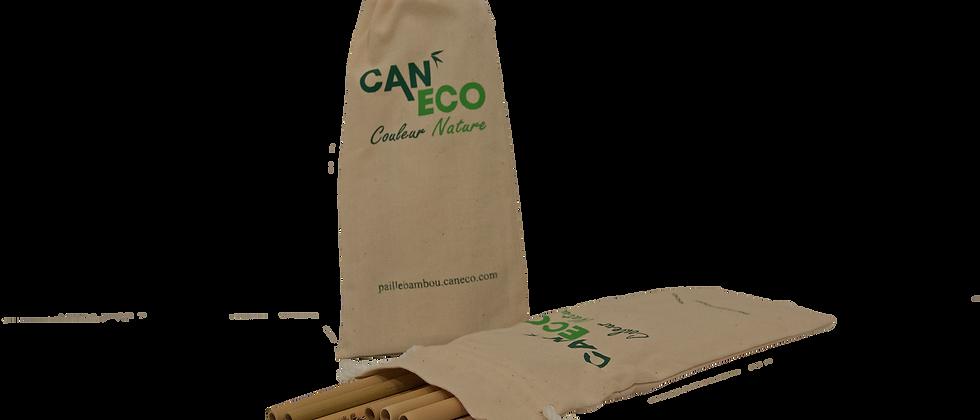 SAC 12 PAILLES (+ 1 gratuite) avec ÉCOUVILLON COCO