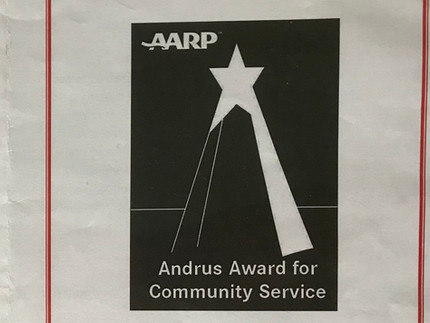 Andrus Award for Community Service