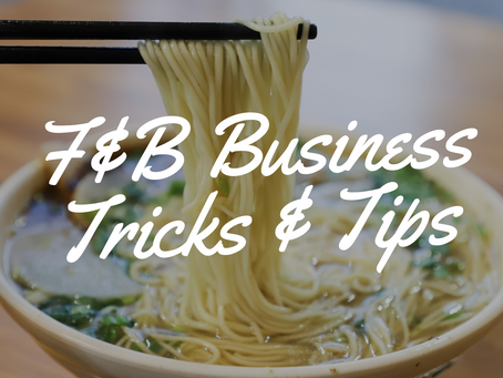 5 Things You Should Consider Before Opening A Food Business In Singapore