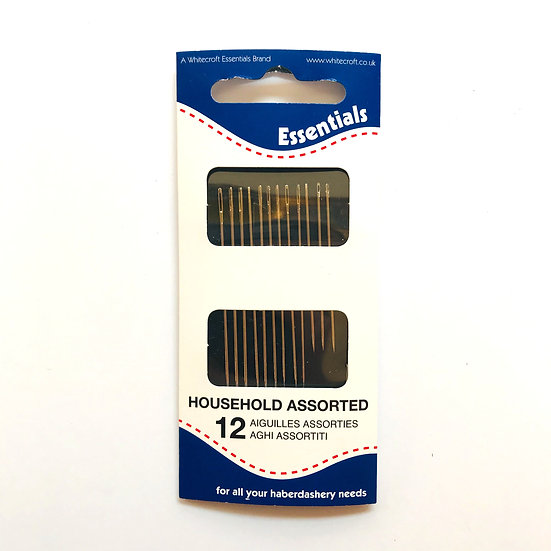Essentials Household Assorted Hand Sewing Needles