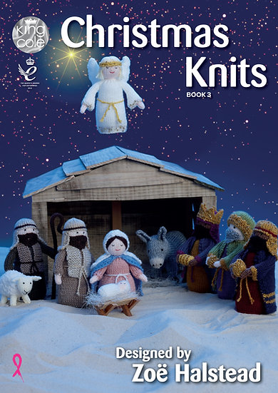 King Cole Christmas Knits Book 3 Designed by Zoë Halstead