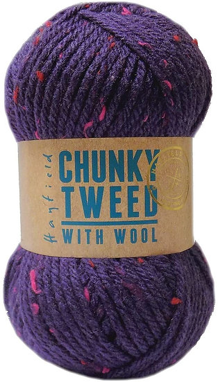 Hayfield Chunky Tweed With Wool