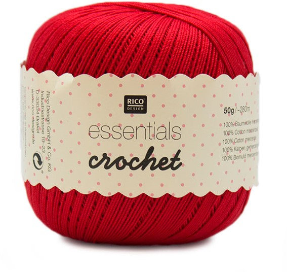 Rico Essentials Crochet Cotton 50g