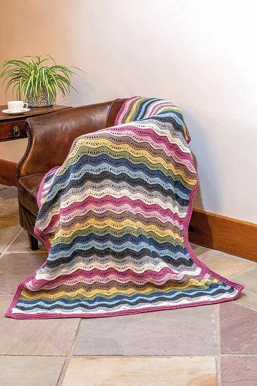 King Cole Forest Aran Crochet Blanket Kit