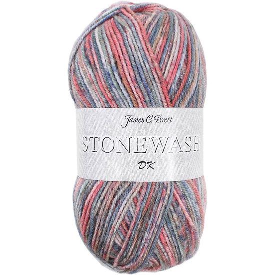 James C. Brett Stonewash Double Knit 100g