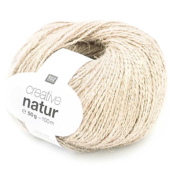 Rico Creative Natur Hemp Yarn 50g