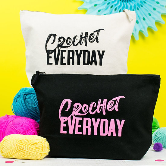 Crochet Everyday Project Bag