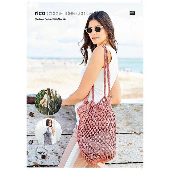 Rico 1012 Crochet Bag Double Knit Pattern