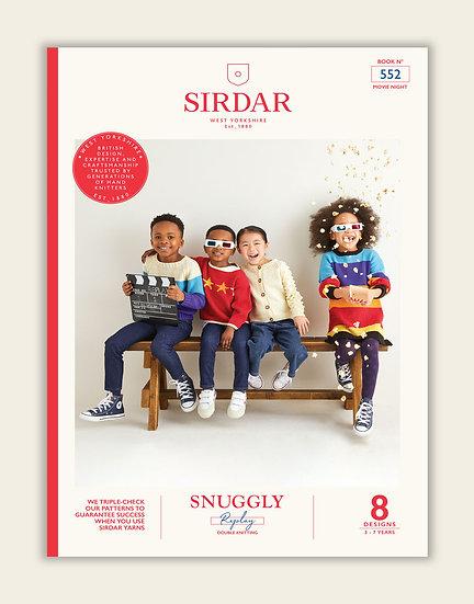Sirdar Children's Movie Nights Double Knitting Pattern Book