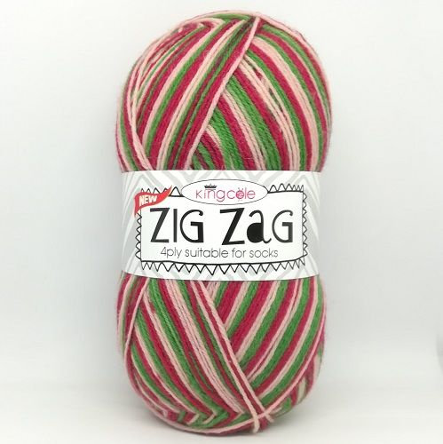King Cole Zig Zag 4 Ply