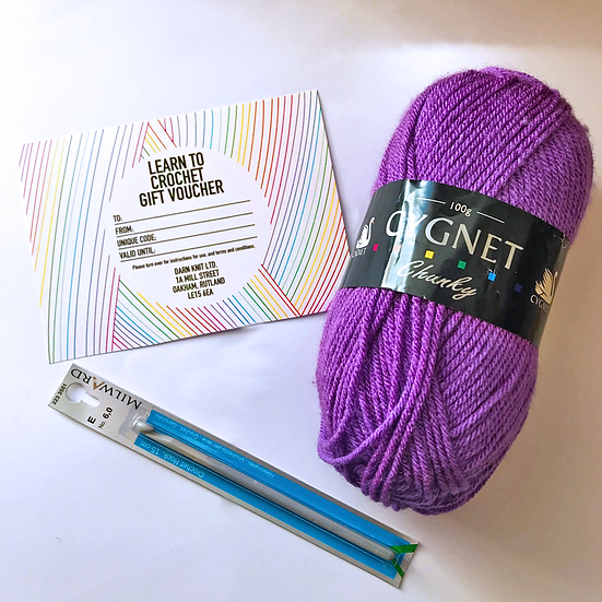 Learn to Crochet Gift Set