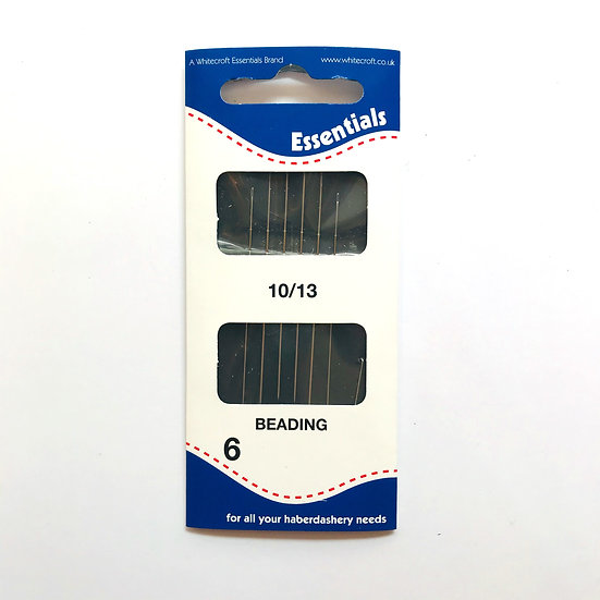 Essentials Beading Hand Sewing Needles Size 10/13