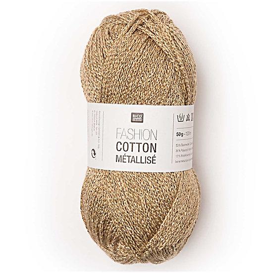 Rico Fashion Cotton Métallisé Double Knit